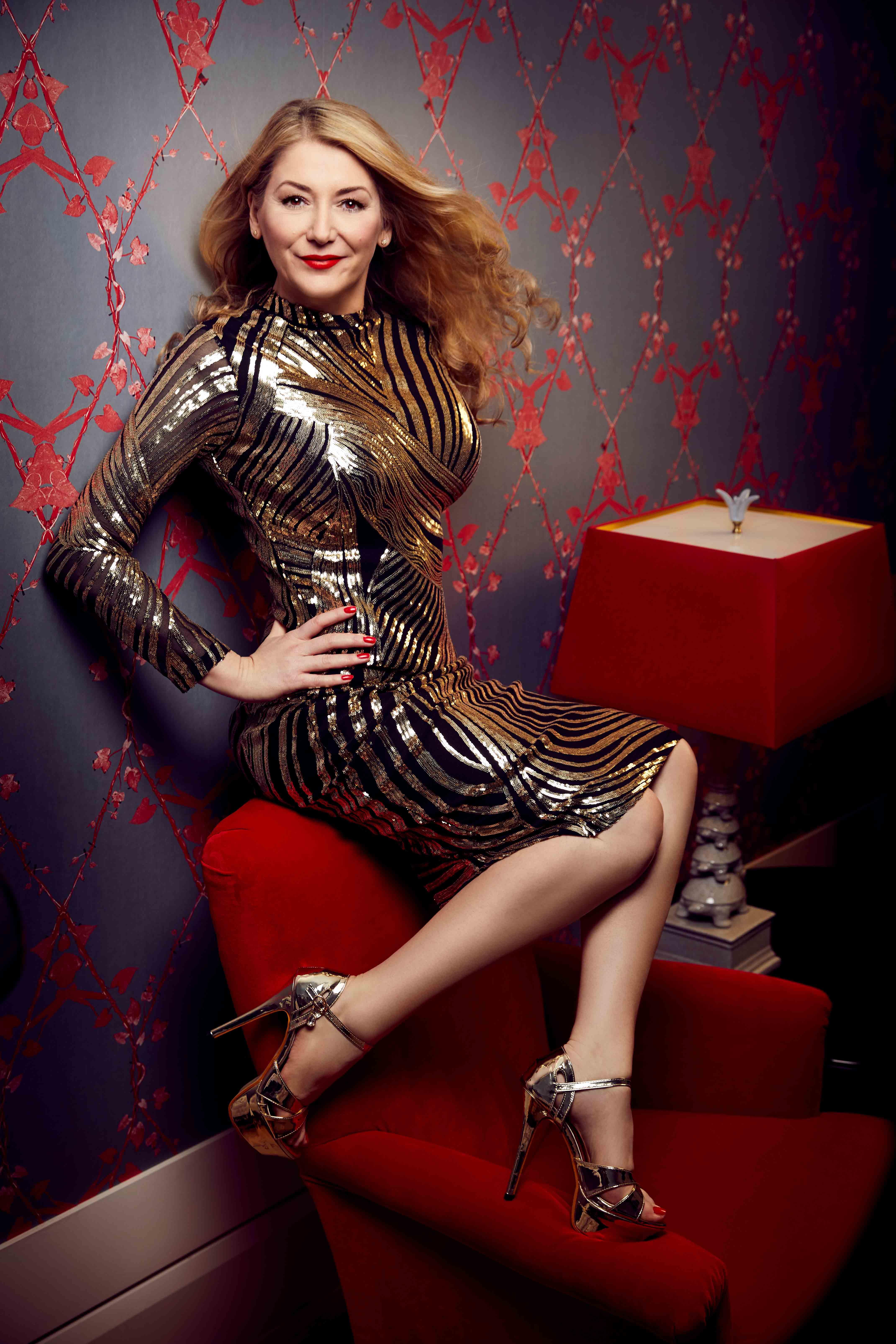Schauspielerin Sandra Quadflieg fotografiert von Marius Engels