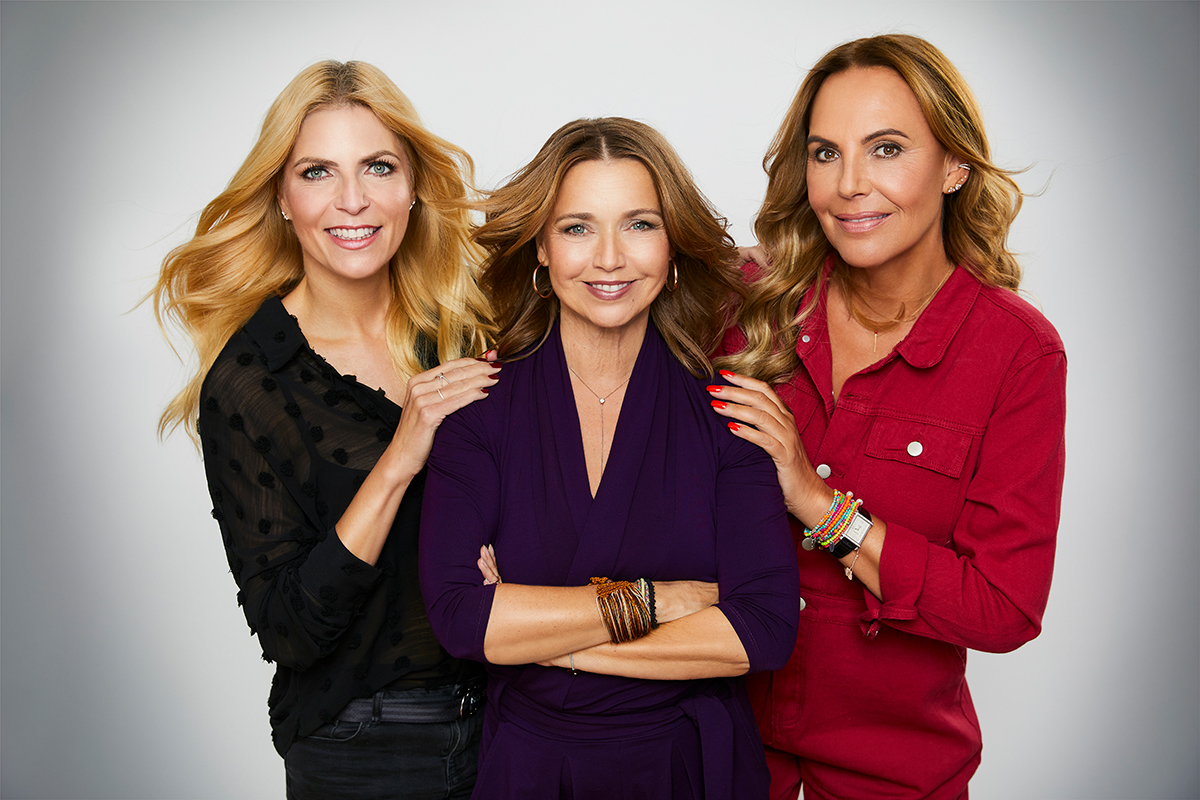 Berlin Blonds – Tanja Bülter, Tina Ruland und Natascha Ochsenkn